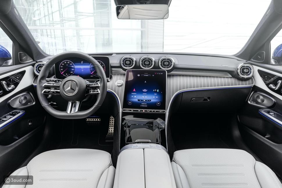 سيارة C-Class الجديدة من مرسيدس-بنز: أعلى مستويات الراحة والرفاهية