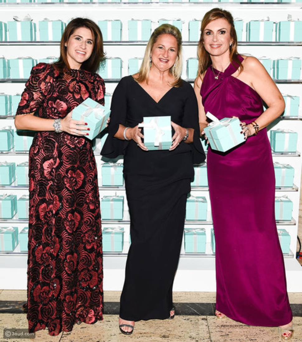 المشاهير يحتفلون بمجموعة Tiffany & Co. الجديدة