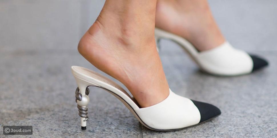 حذاء شانيل يستحوذ على الستريت ستايل