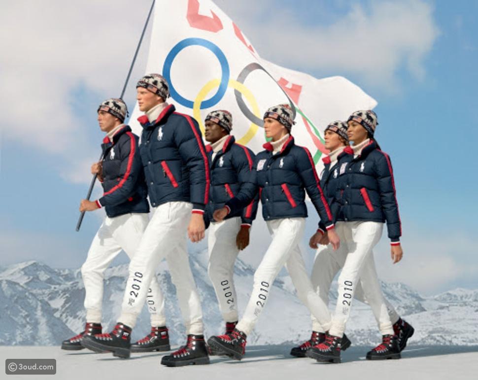 تصاميم رالف لورين لملابس الألعاب الأوليمبية