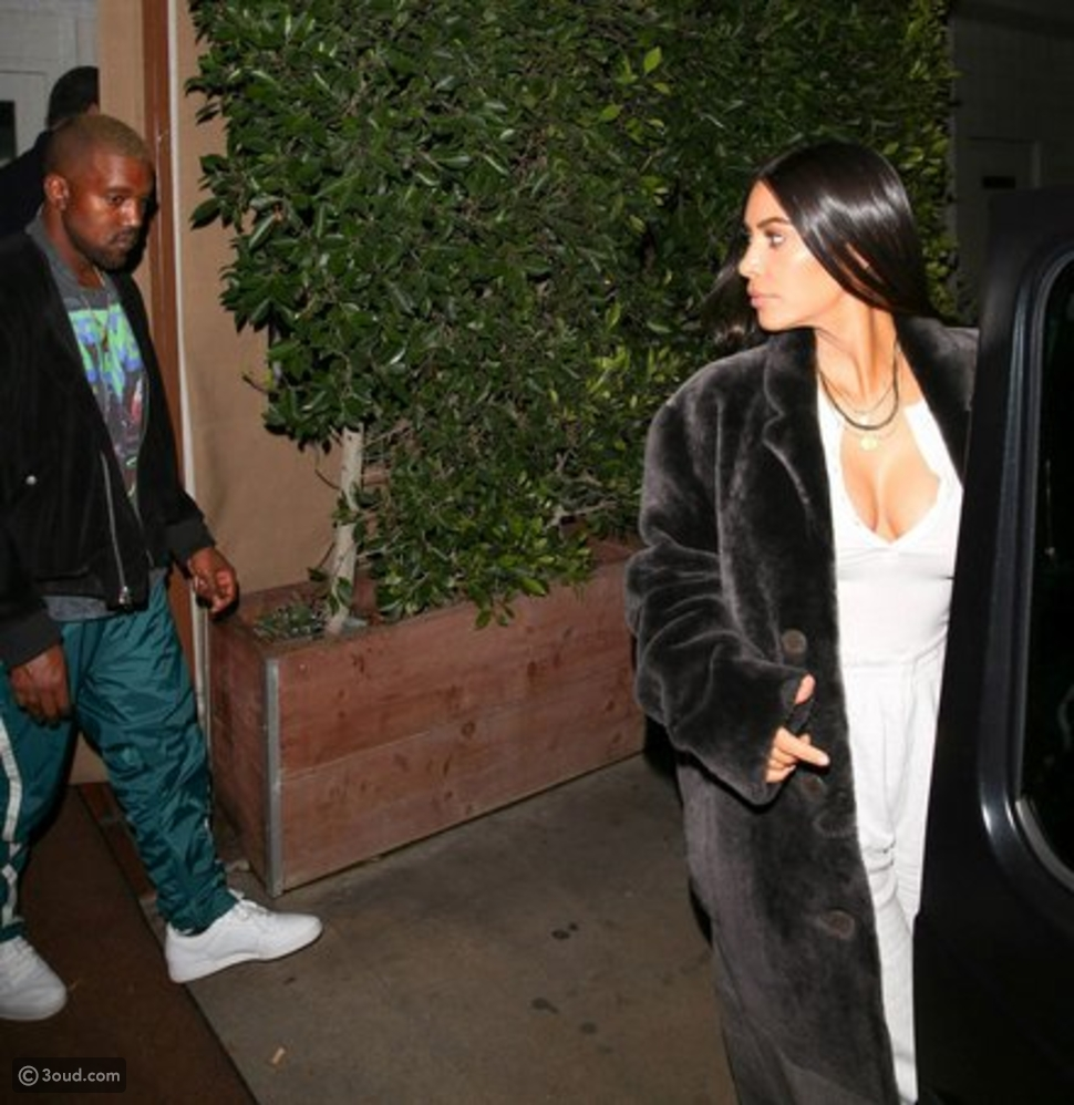 Mr and Mrs West rocking Date Night