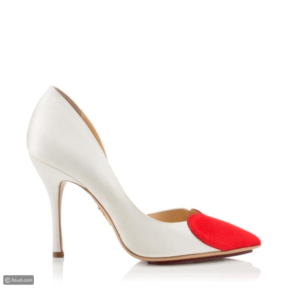 اختاري أحذية عرائس مختلفة من العلامة التجارية Charlotte Olympia