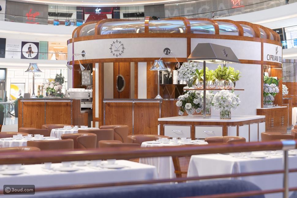 افتتاح مطعم CIPRIANI DOLCI  في دبي مول