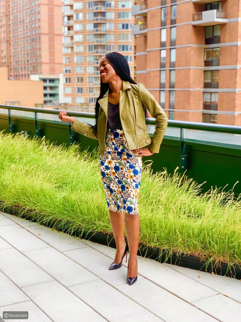 6 طرق غير تقليدية لارتداء الجاكيت الجلد في الخريف