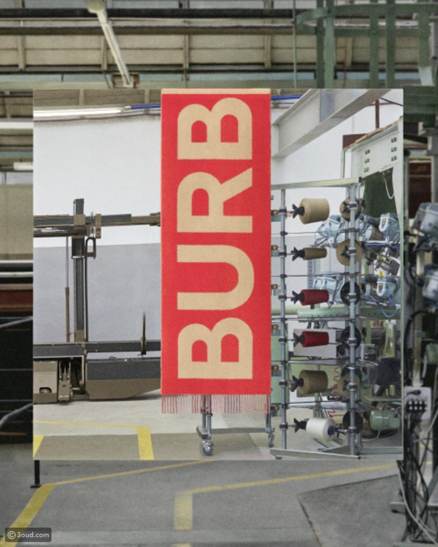 خطوات صناعة وشاح Burbery الكشمير