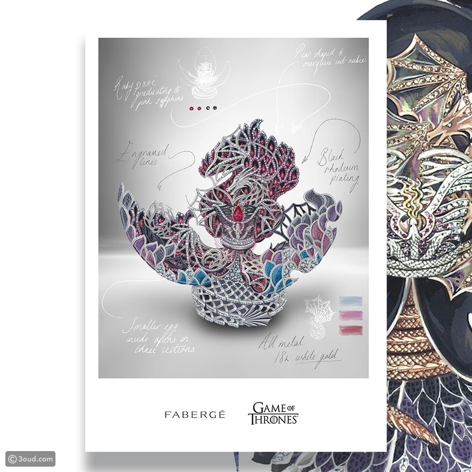 تعاون مميّز يجمع بين Fabergé وGame of Thrones