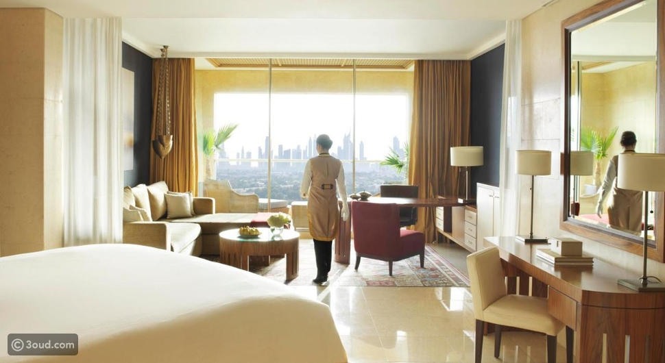 غرف فندق رافلز