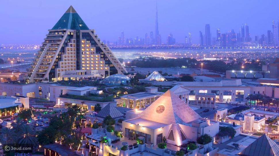 أماكن الإقامة في دبي