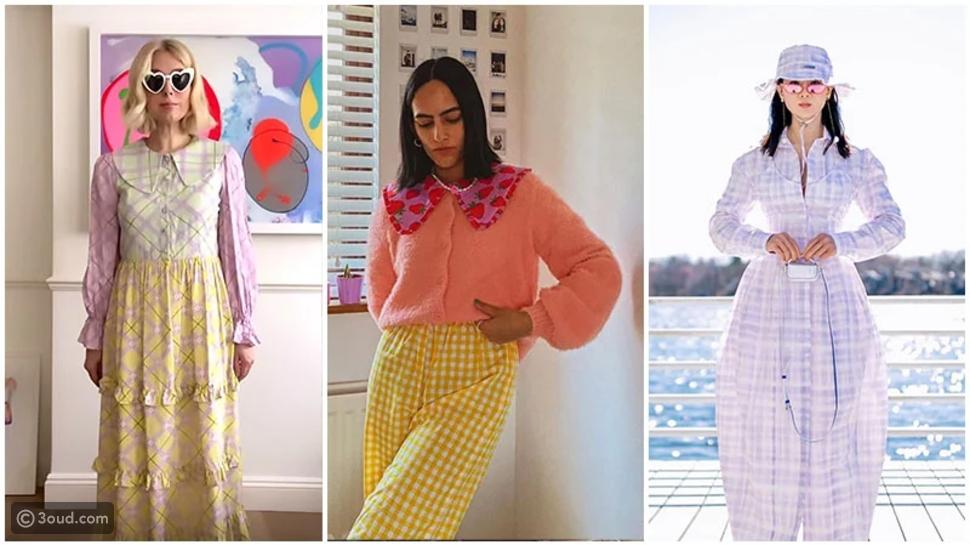 الملابس بألوان البوب الزاهية