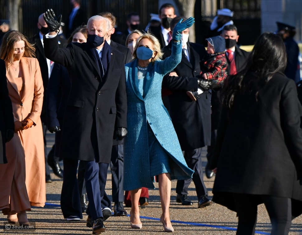 """مراسم تنصيب """"جو بايدن"""" الرئيس ال 46 للولايات الامريكيه المتحده"""