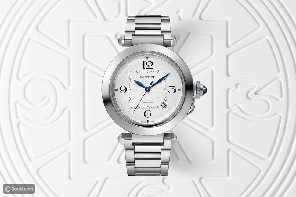 Cartier تعيد طرح ساعتها Pasha de Cartier بشكل عصري جديد