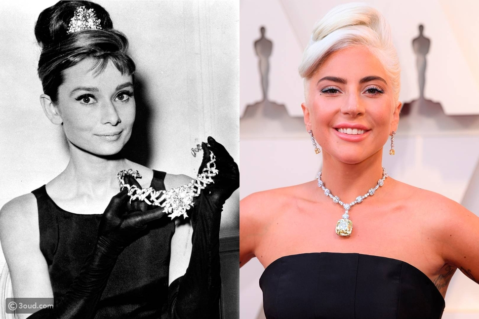 جال جادوت ترتدي جوهرة ليدي جاجا من Tiffany & Co في Death on the Nile