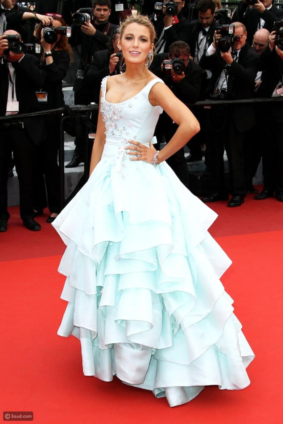فستان سندريلا يحضر مهرجان كان السينمائي لهذا العام