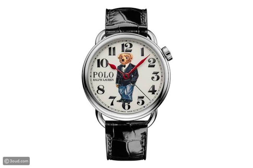 Ralph Lauren يصدر 3 ساعات لـPolo Bear