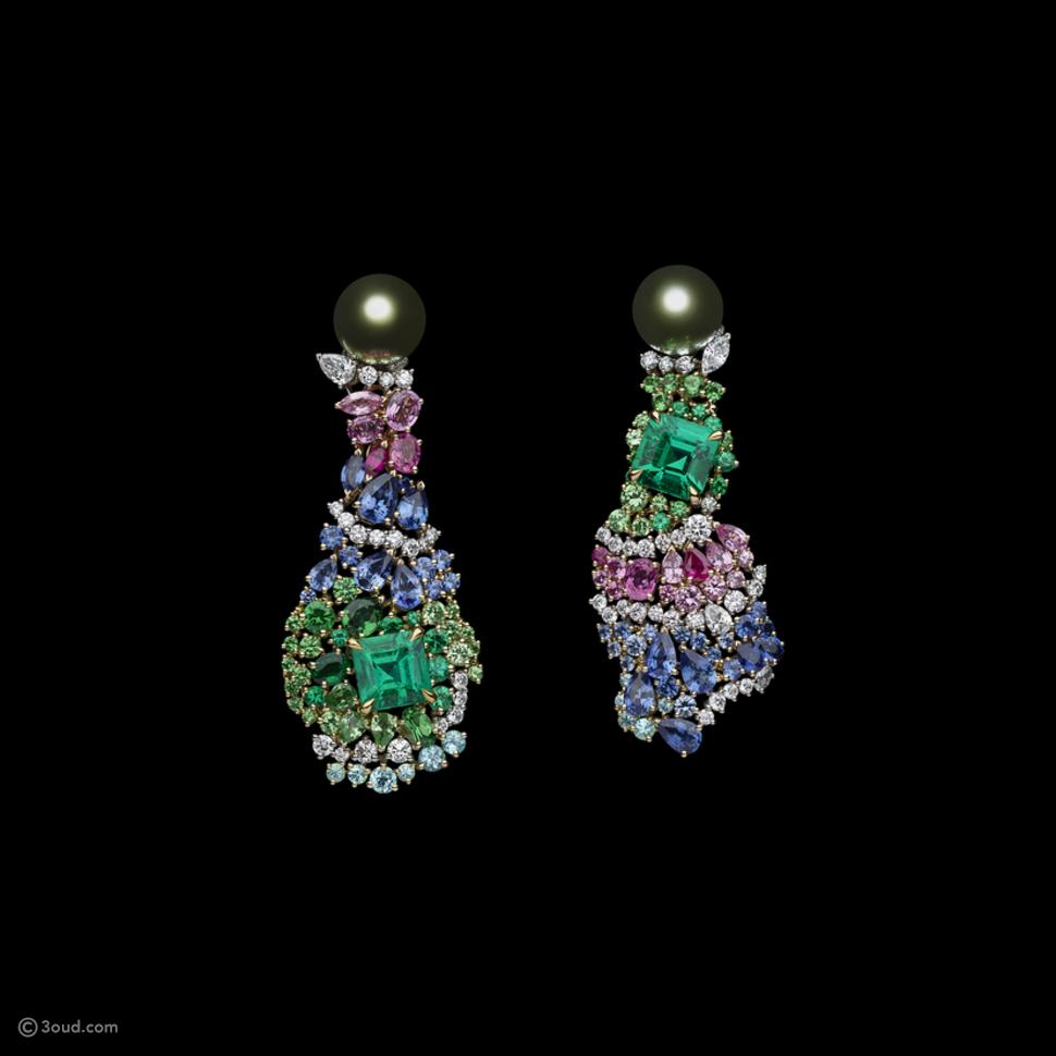 مجوهرات جديدة من Dior مستوحاة من Tie-Dye والأزياء الراقية