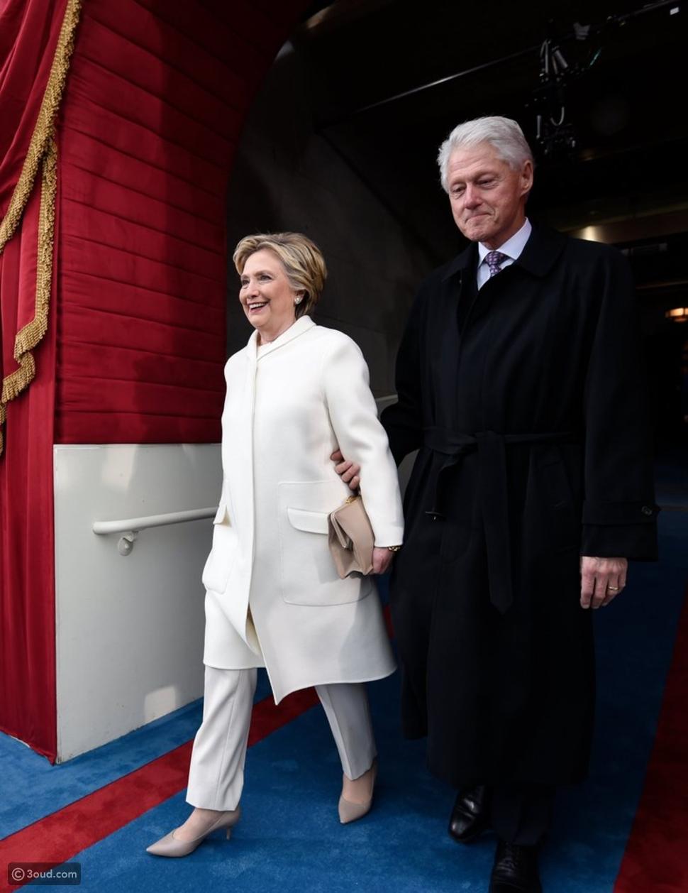 هيلاري كلينتون تختار رالف لورين في يوم التنصيب