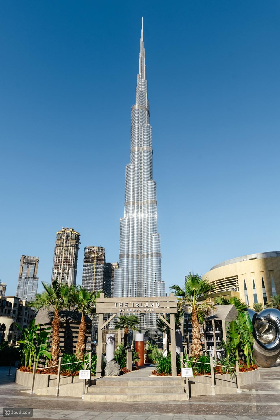 افتتاح FENTY SKIN ISLAND ضمن فعاليات مهرجان دبي للتسوق