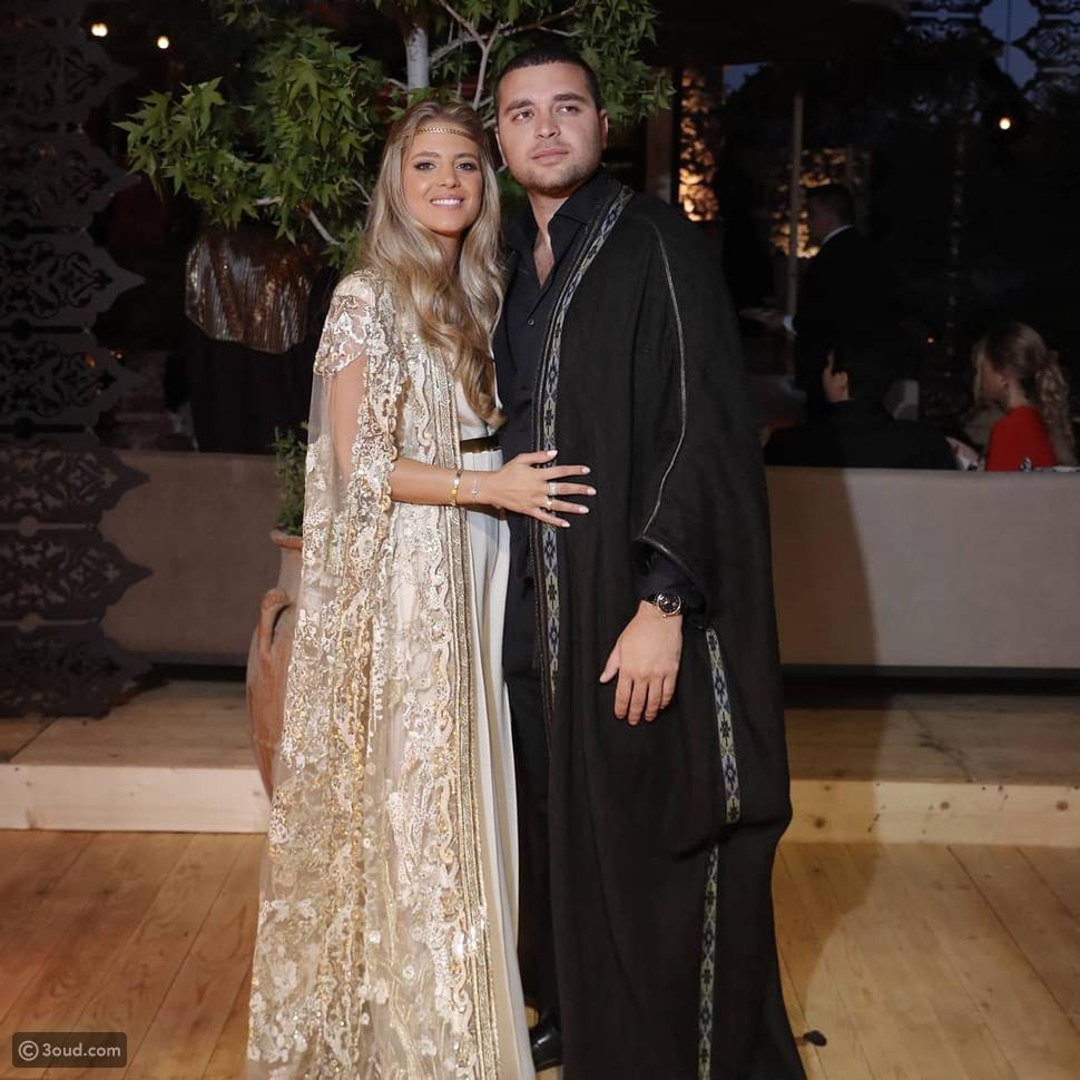 اليوم الأول لزفاف إيلي صعب جونيور وكريستينا مراد