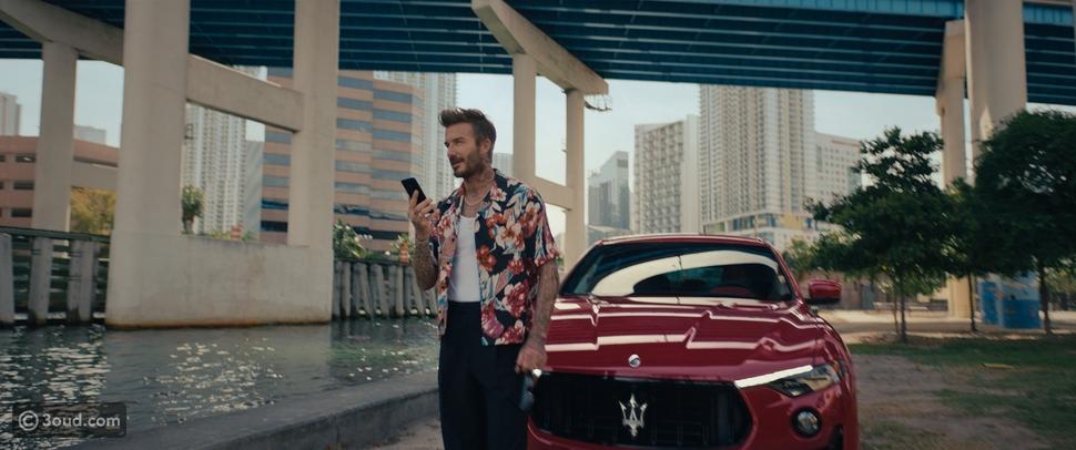 Maserati تعلن التعاون مع ديفيد بيكهام