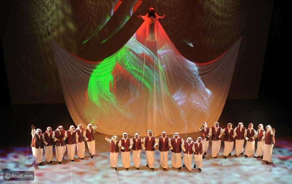 """افتتاح """"مركز جابر الأحمد الثقافي"""" صرح من الابداع"""