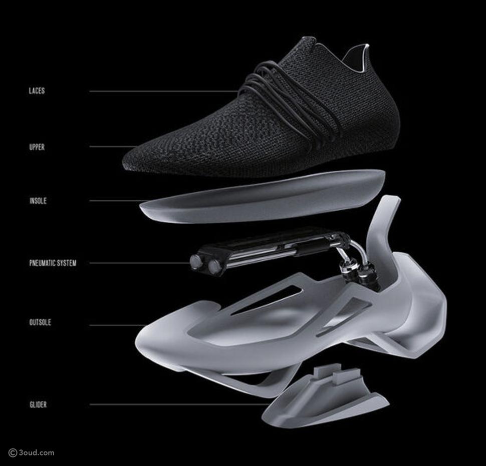 تصميم الحذاء المستقبلي