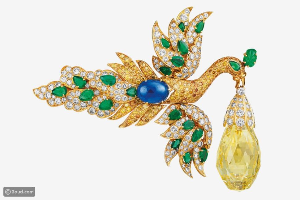 مجوهرات نادرة في معرض Van Cleef & Arpels في ميلانو