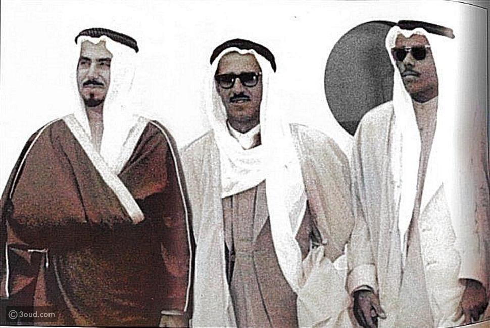 الكويت بين الماضي والحاضر والمستقبل.. صورة تجمع 3 أمراء تتصدر الترند