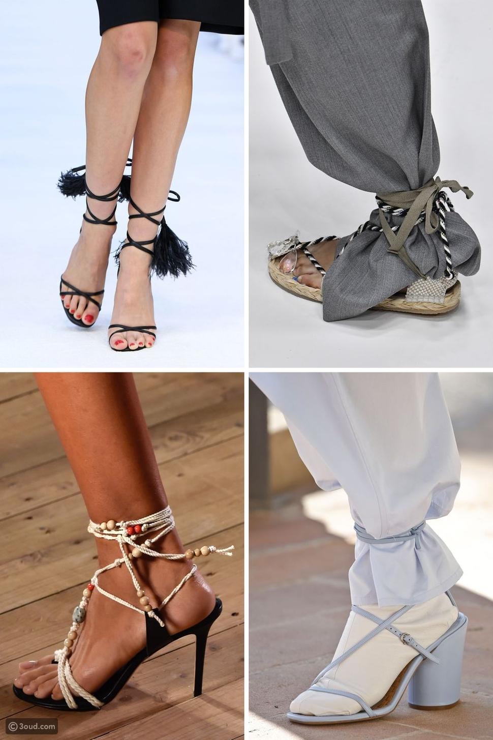 7 اتجاهات للأحذية تسيطر على صيف 2020