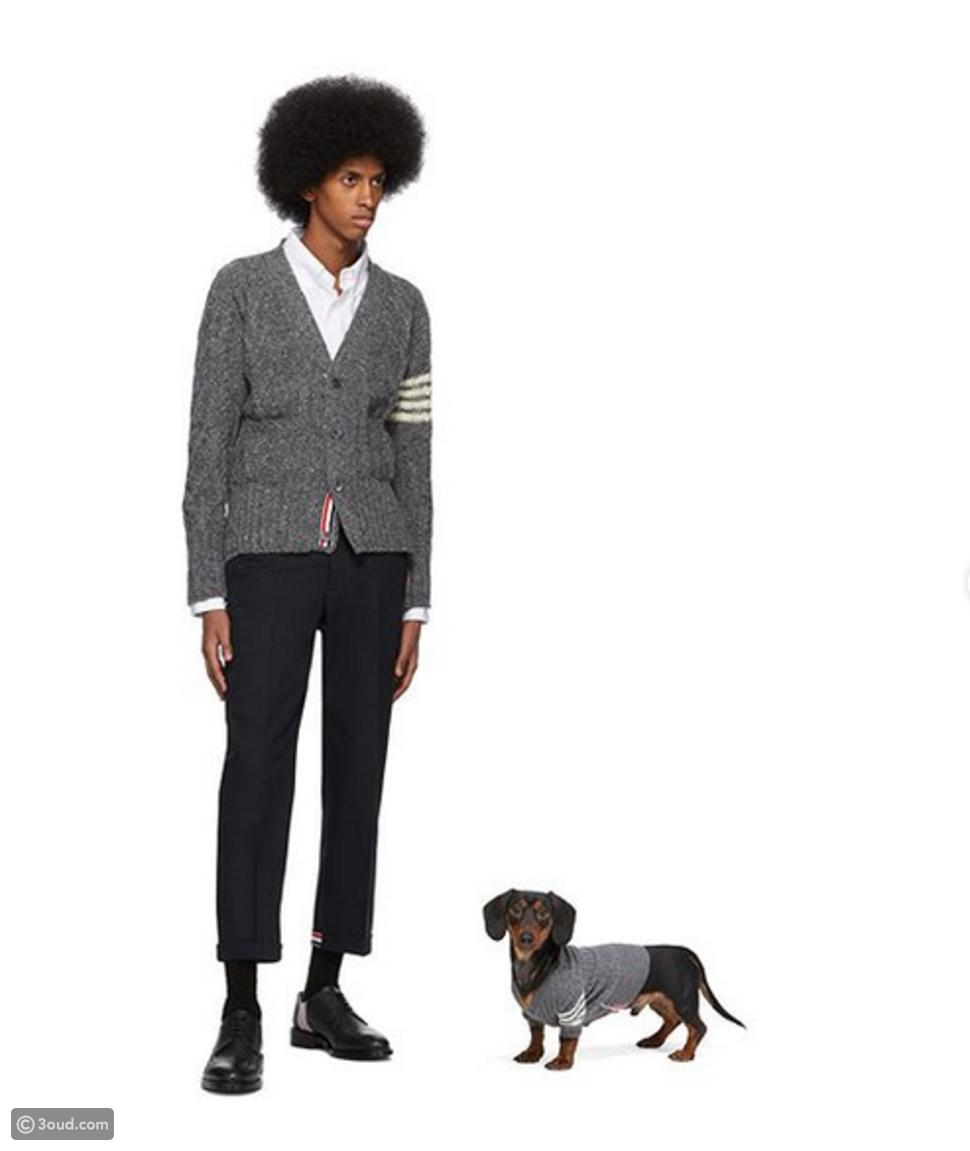 نسقي إطلالتك مع كلبك من Versace و Burberry