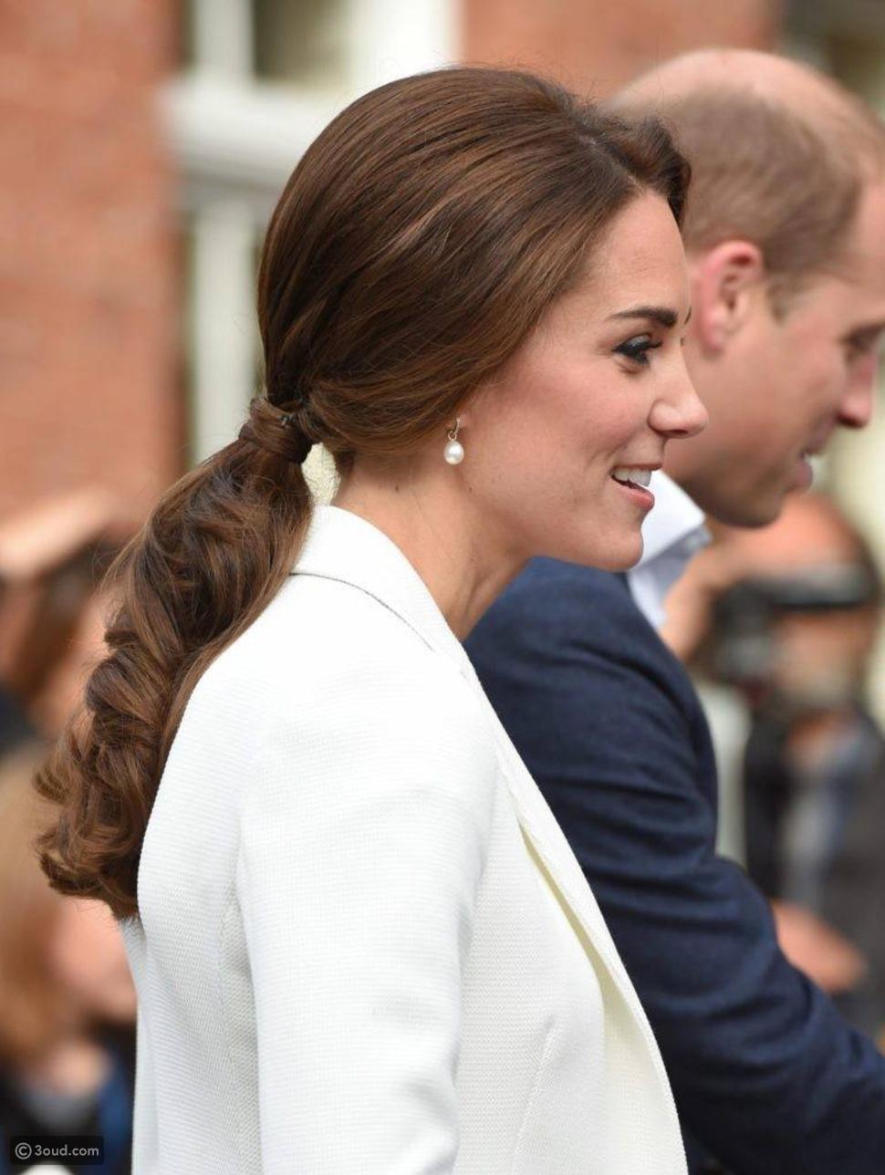 تسريحات شعر محظورة على كيت ميدلتون وبقية سيدات العائلة الملكية