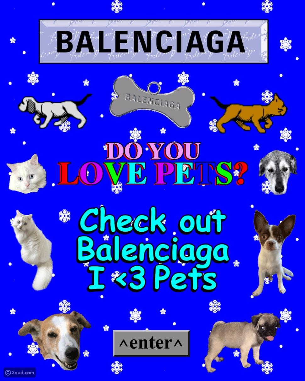 مجموعة I Love Pets المصّغرة من BALENCIAGA