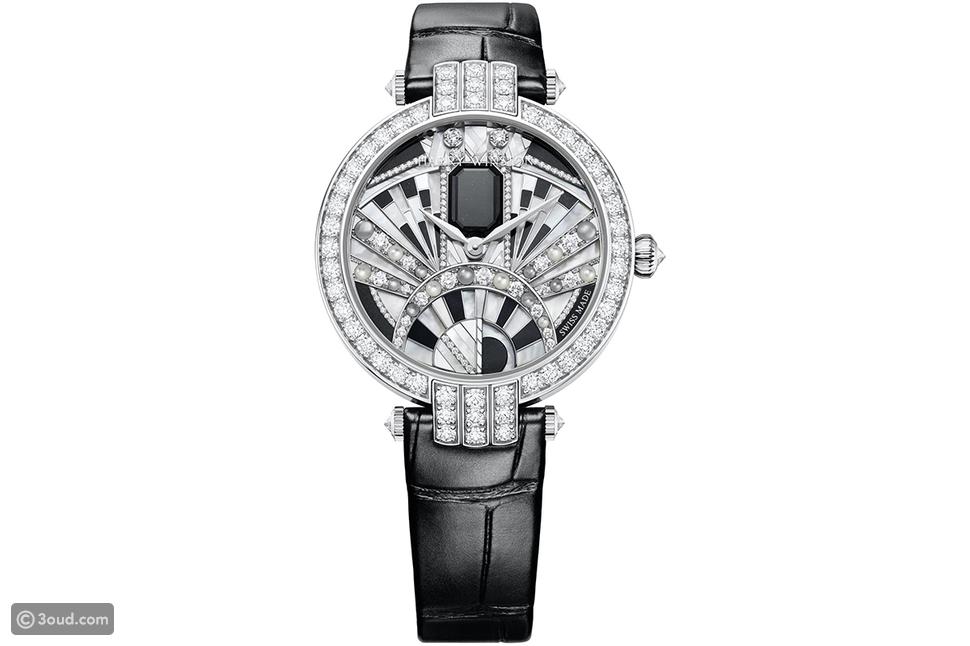 ساعة ماجستيك آرت ديكو Majestic Art Deco من هاري وينستون