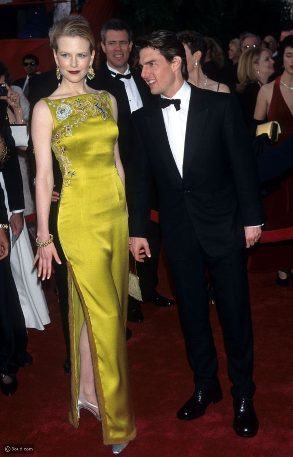 Christian Dior Haute Couture chartreuse gown worn by Nicole Kidman to the 1997 Oscars, designed by John Galliano: $2 million
