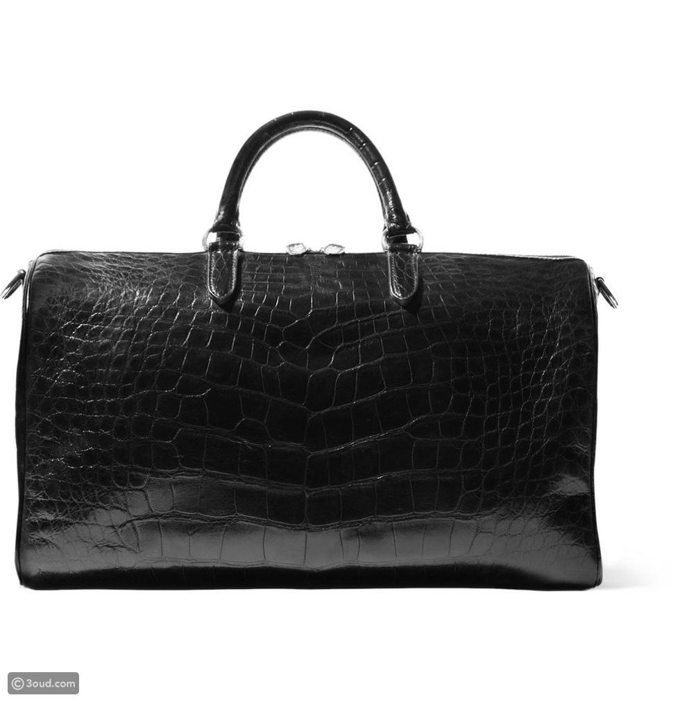 Purple Label Crocodile Duffel Bag: $25,000