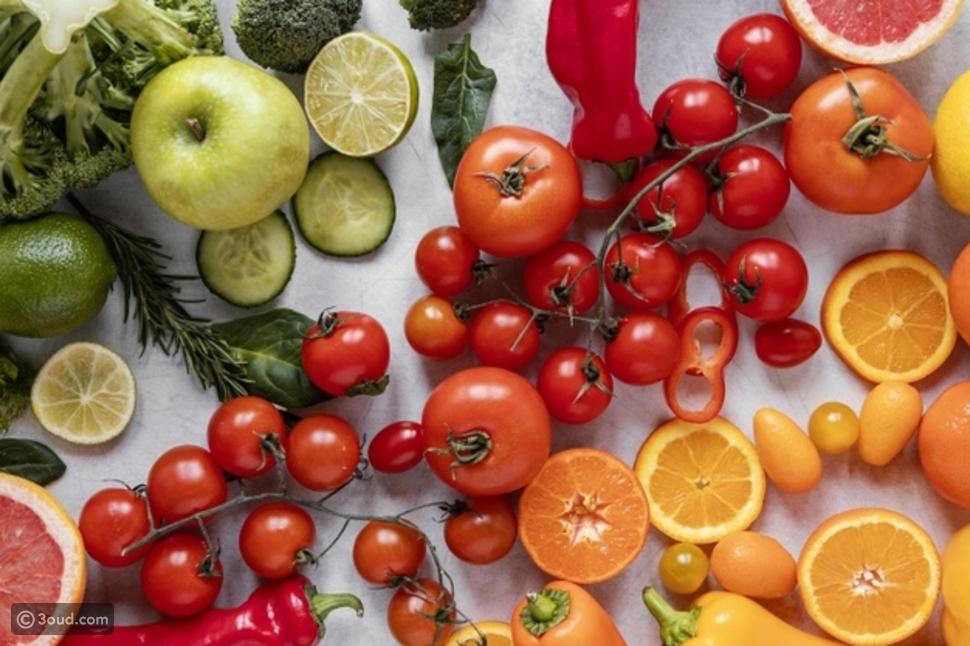 الفواكه والخضار