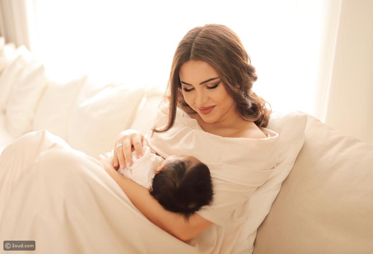 نجود الرميحي إمرأة طموحة وأم لطفلين