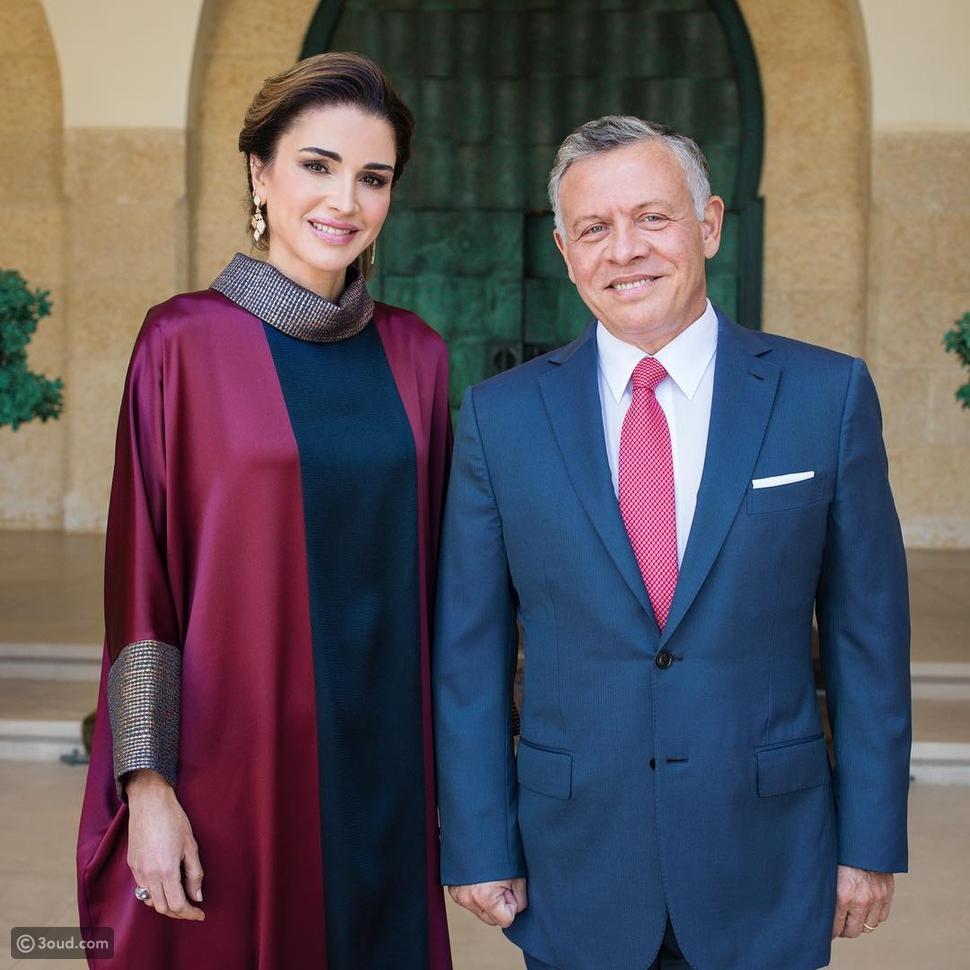 أناقة الملكة رانيا في عيد الاستقلال