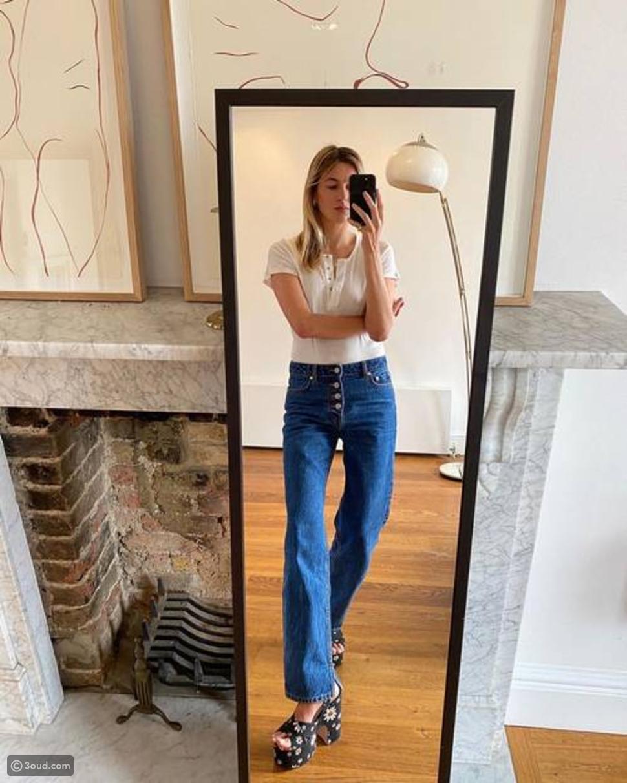 جينز شارلستون Flared Jeans